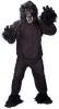 Zwarte gorilla kostuum