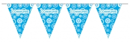 Blauwe vlaggenlijn communie