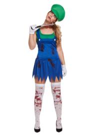 Luigi zombie jurkje