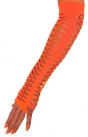 Handschoenen neon oranje