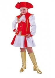 Dansmarieke rood/wit