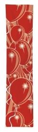 Rode ballonnen banner 300x60