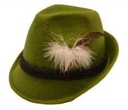 Luxe Tirolerhoed groen