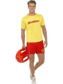 Baywatch lifeguard kostuum