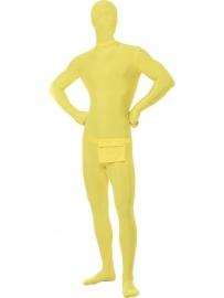 Second skin kostuum Geel