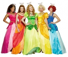 Prinsessia jurk roze origineel