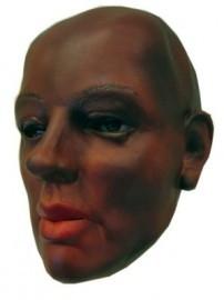 Masker donkere vrouw