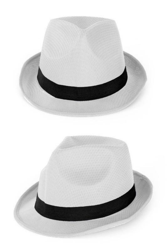 Wit hoedje tribly