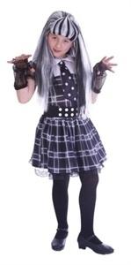 Halloween schoolgirl
