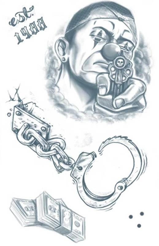 Prison Tattoos Lock Down