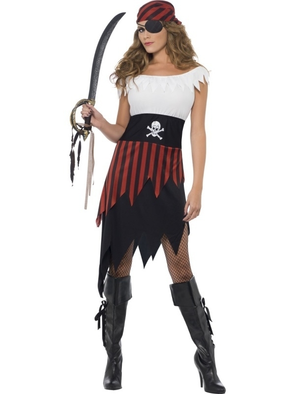 Sexy piraten jurkje