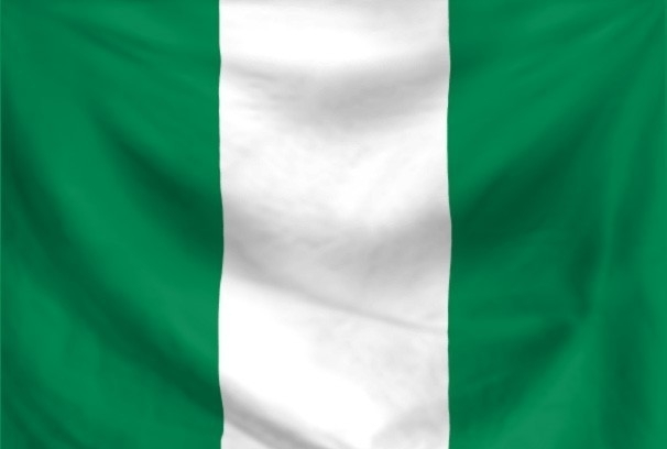 Vlag Nigeria 90x150cm