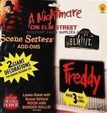 Scene setter decoratie Freddy kruger