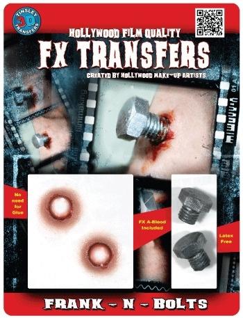 3D transfer wonden met bouten
