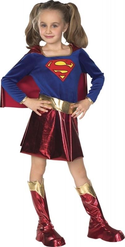 Supergirl kinder outfit