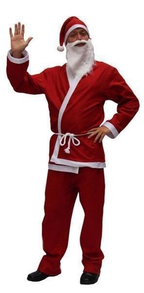 Kerstmannen kostuum
