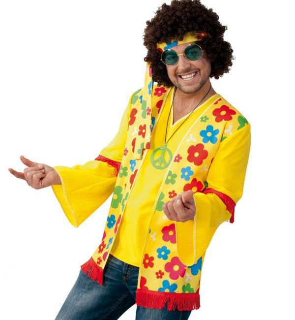 Hippie vest en shirt