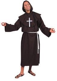 Image of Bruine monnik kostuum deluxe a-41633195