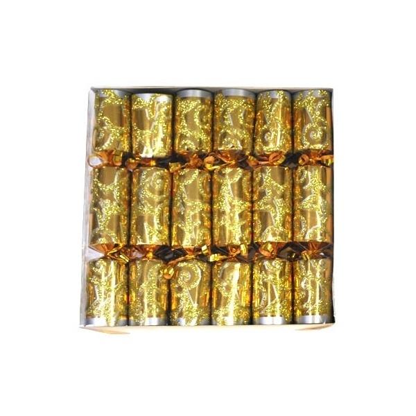 Kerstmis crackers goud