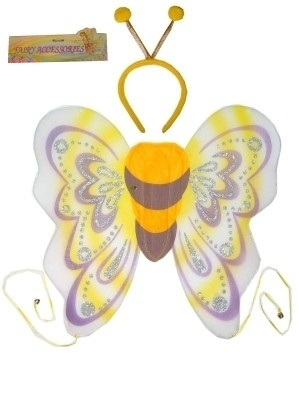 Butterfly wings with Tiara