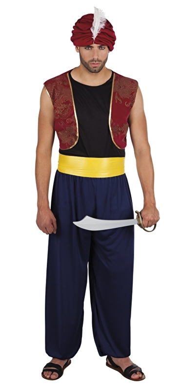 Sultan kostuum Aziz