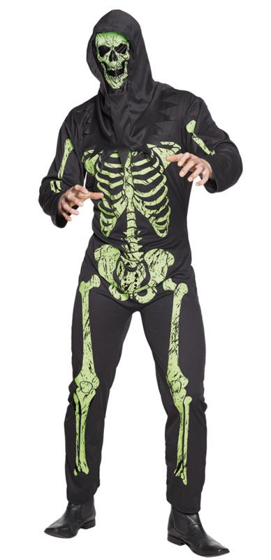 Scary skeleton kostuum