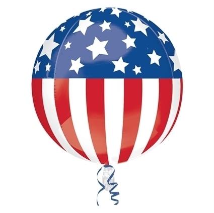 Folieballon amerika USA incl.