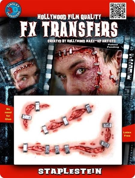 3D transfer geniete wonden