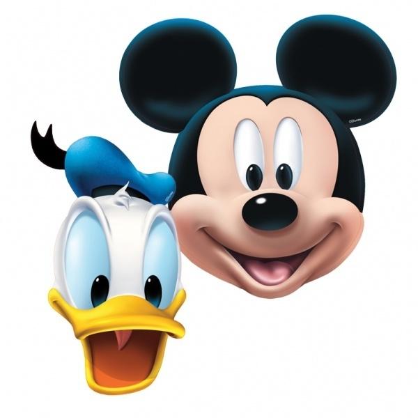 Kartonnen Maskers Disney