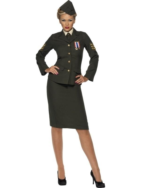 Officiers jurkje groen