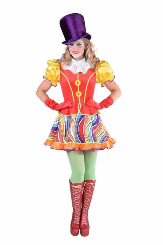 Clowns jurkje rainbow