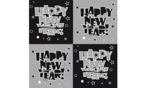 Servetten New Year