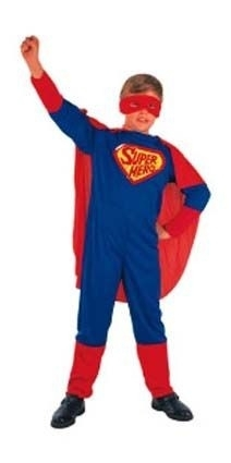 Superman heldenoutfit
