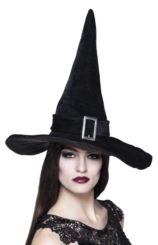 Heksenhoed Kendra zwart