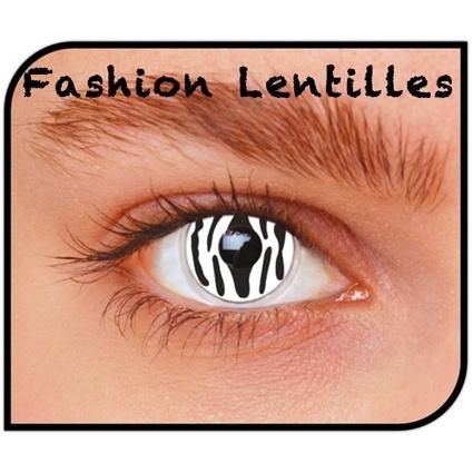 Contactlenzen Zebra