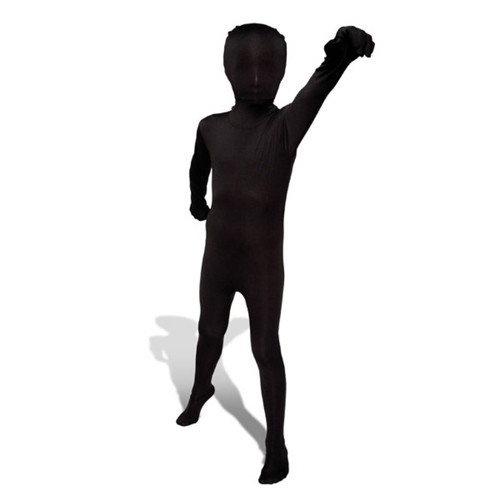 Morphsuit kinder zwart