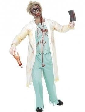 Zombie doctor kostuum