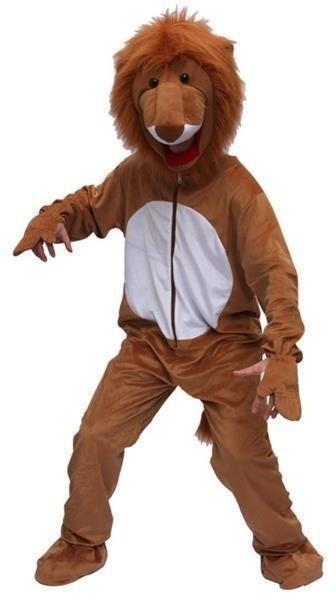 Mascotte leeuw kostuum