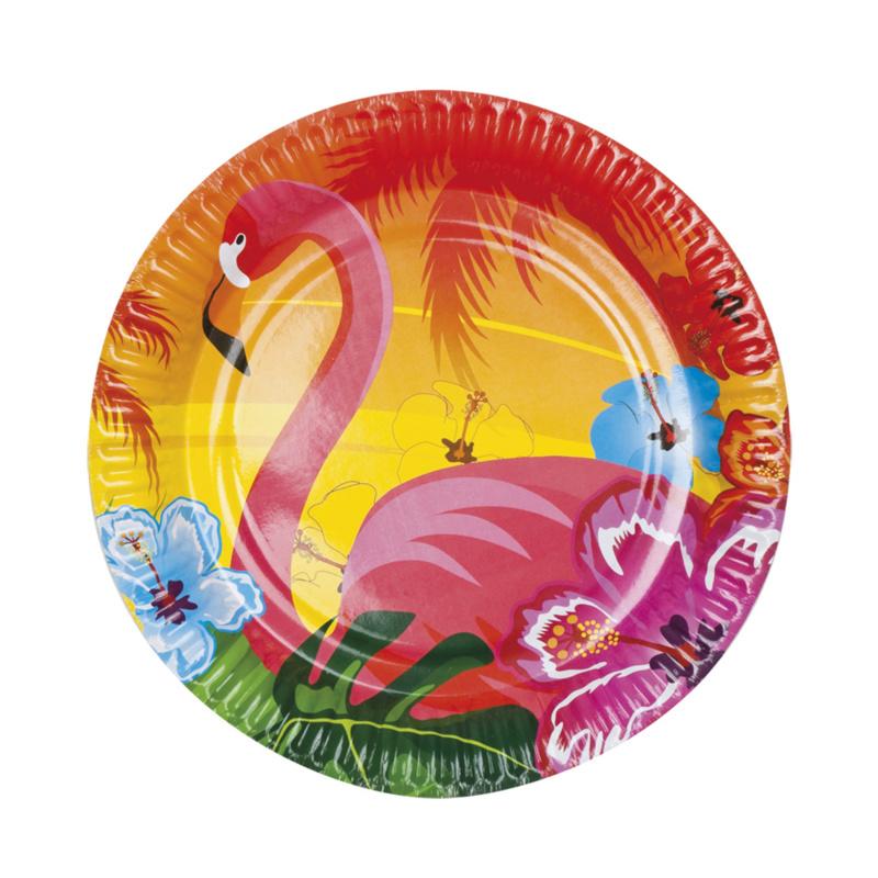 Flamingo bordjes tropical