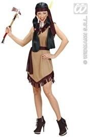 Indian lady kostuum