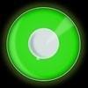 Feest lenzen UV groen