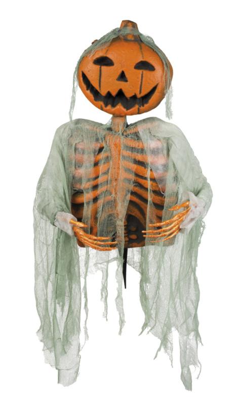 Pompoen skelet decoratie