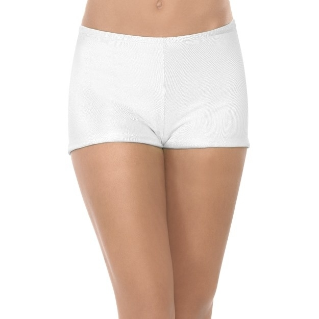 Witte hotpants
