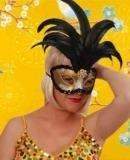 Oogmasker venetiaans de luxe