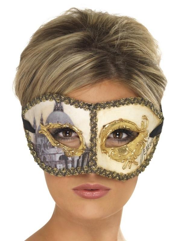 Oogmasker Venice lady