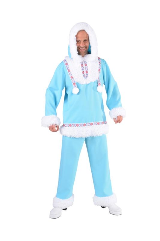 Eskimo kostuum ice blue