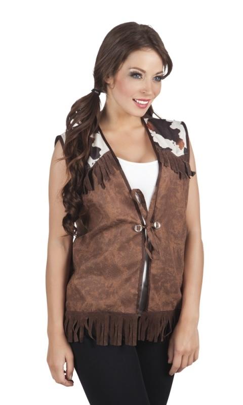 Stoer cowgirl vestje