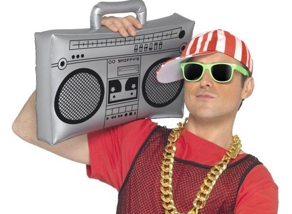 Radio Casette recorder opblaasbaar