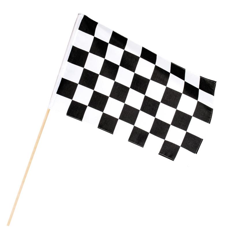 Zwaaivlag formule 1 racing