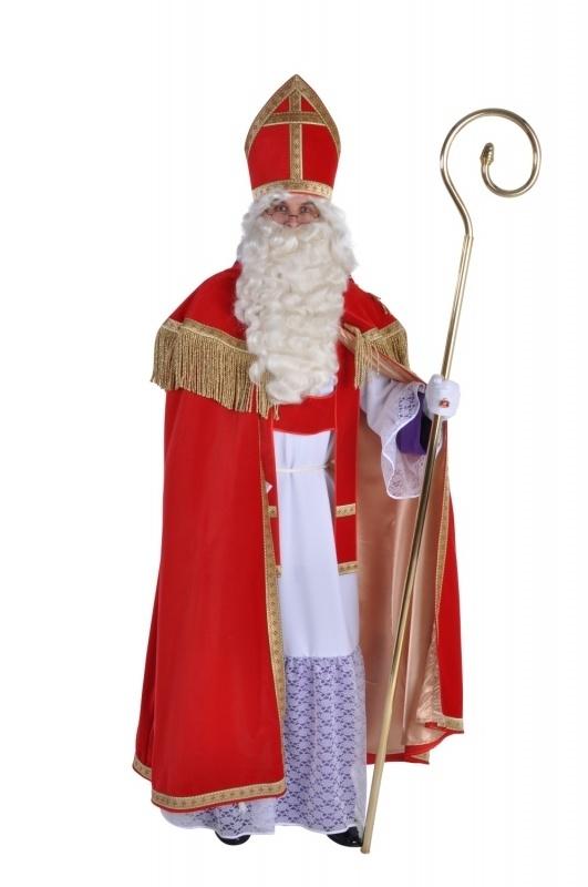 Compleet Luxe sinterklaas kostuum